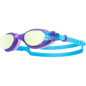 TYR Vesi Goggles Mirrored Kinder purple/blue